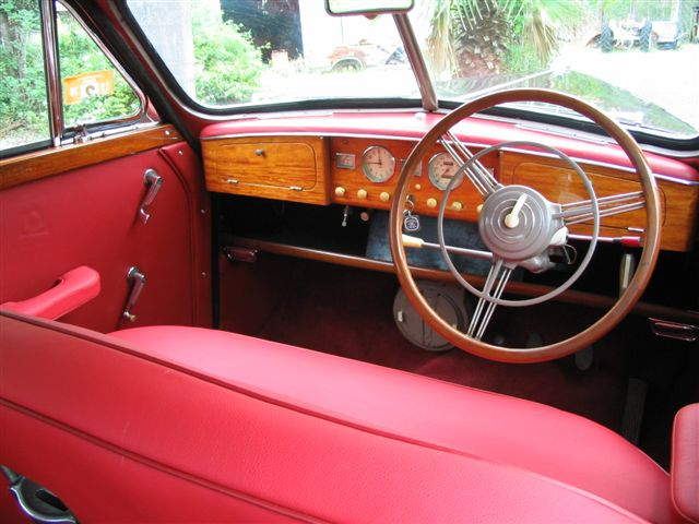Wolseley 6/80 Interior