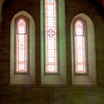 Stained Glass inside church