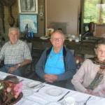 John, Keith and Barbara.